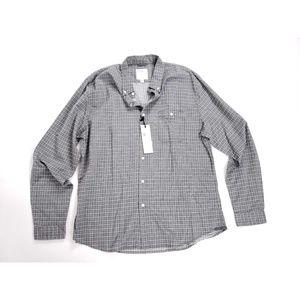Life After Denim Mini Windowpane Plaid Shirt